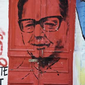 Salvador Allende is listed (or ranked) 6 on the list Famous People From Chile