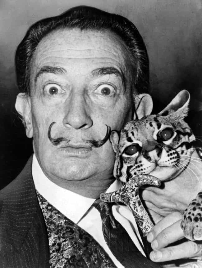 Salvador Dalí is listed (or ranked) 1 on the list Famous Dada Artists