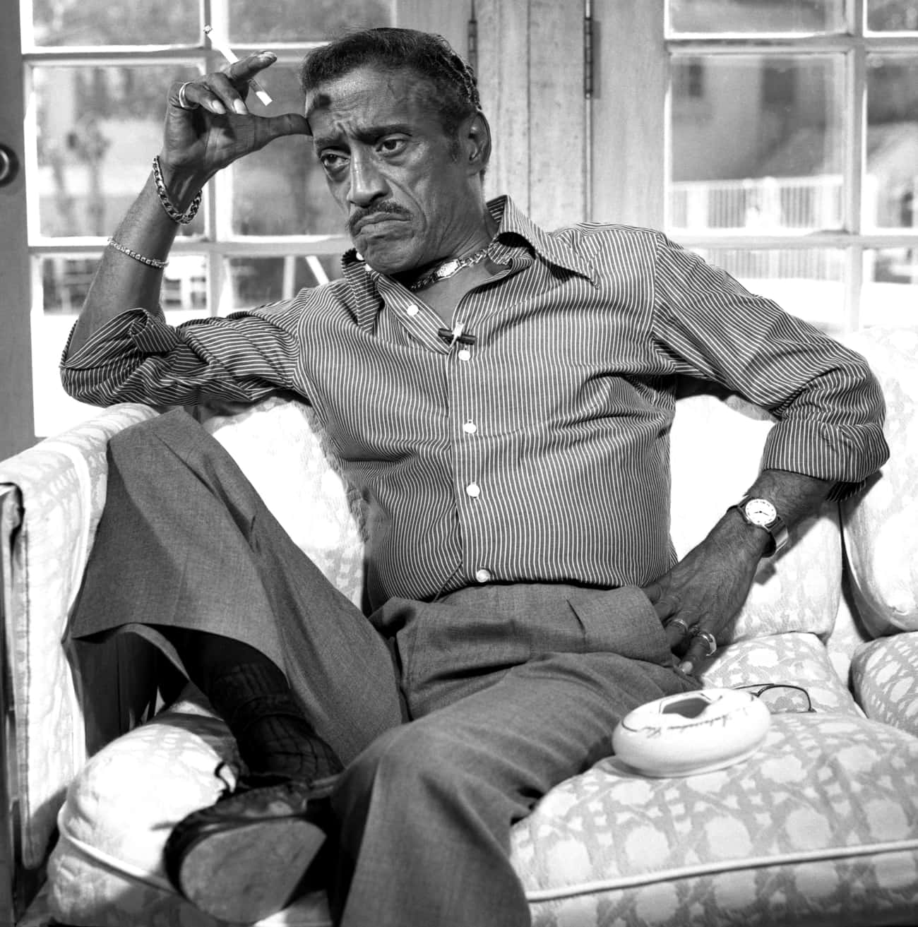 Sammy Davis, Jr. is listed (or ranked) 4 on the list Famous People Who Died of Throat Cancer
