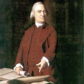Samuel Adams is listed (or ranked) 13 on the list The Most Important Leaders in U.S. History