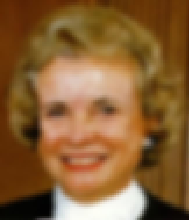 Sandra Day O'Connor is listed (or ranked) 2 on the list Famous Female Judges