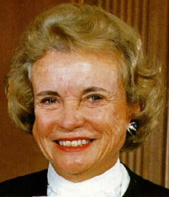Sandra Day O'Connor is listed (or ranked) 7 on the list The Coolest Female Firsts in History