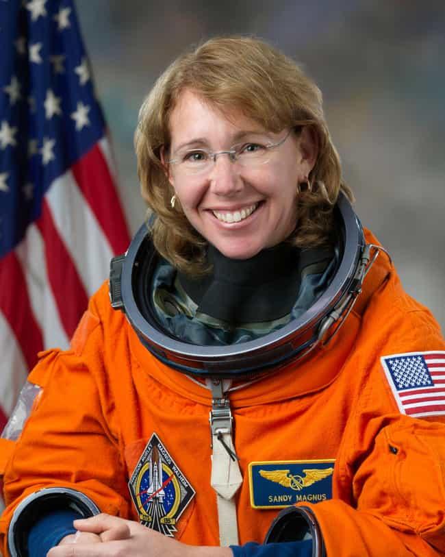 Sandra Magnus is listed (or ranked) 3 on the list Famous Female Flight Engineers