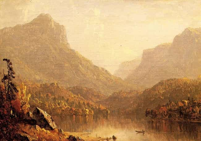 Sanford Robinson Gifford is listed (or ranked) 4 on the list Famous Hudson River School Artists