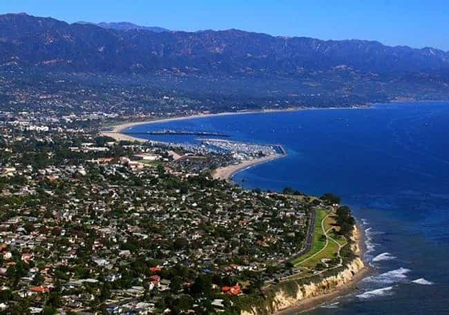 Santa Barbara is listed (or ranked) 2 on the list The All-Time Best Presidential Vacation Spots
