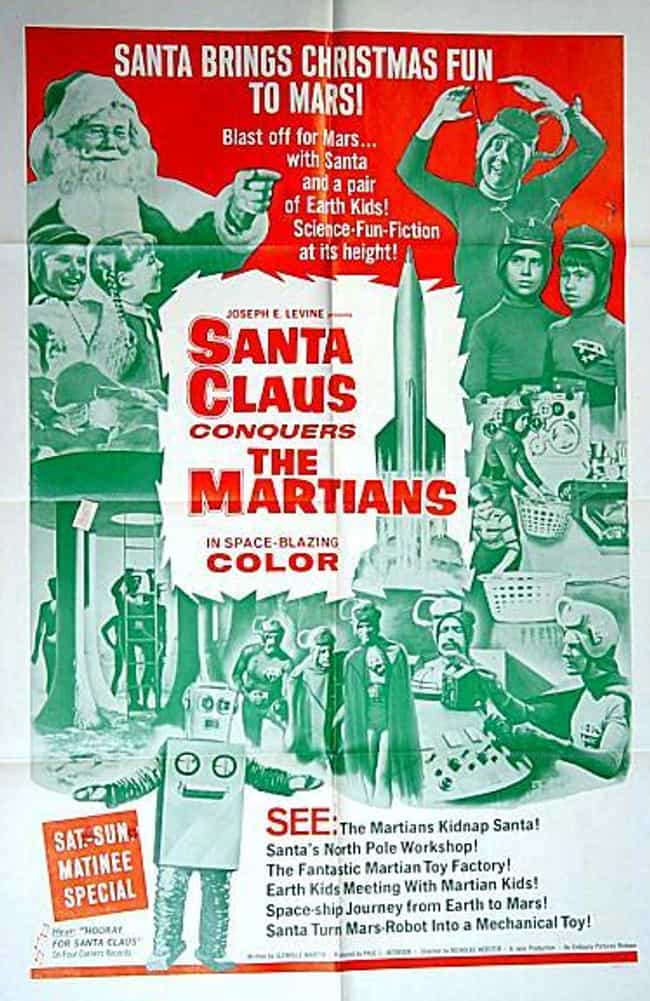 Santa Claus Conquers the Marti... is listed (or ranked) 1 on the list The Best Pia Zadora Movies