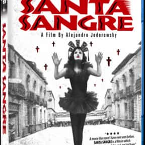Santa Sangre is listed (or ranked) 19 on the list The Best Horror Movies About Carnivals and Amusement Parks