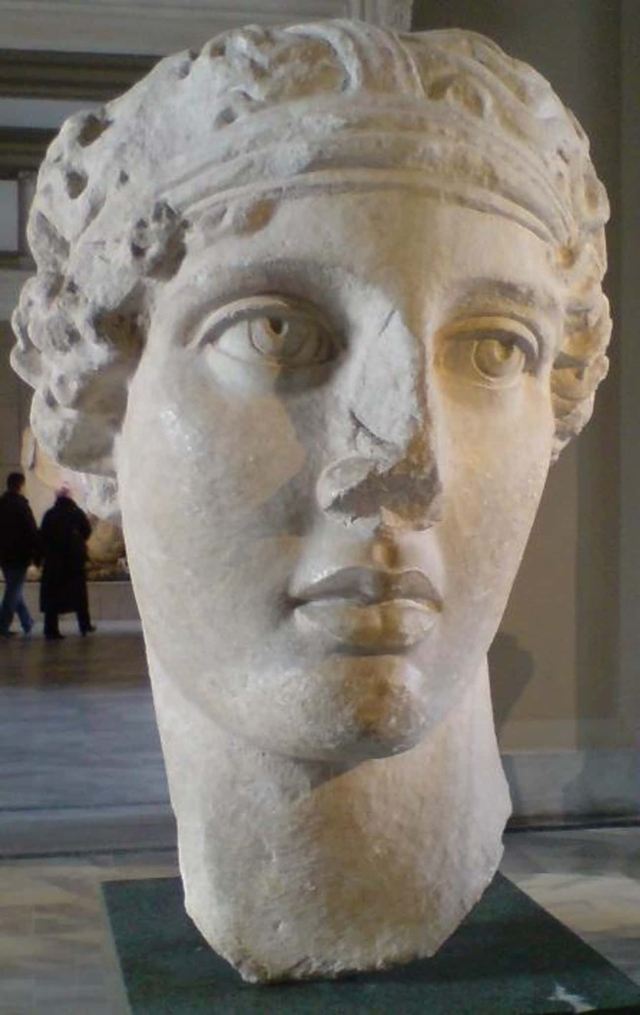 Sappho is listed (or ranked) 2 on the list 32 Famous Lesbian Poets Who Heavily Influenced Modern Poetry