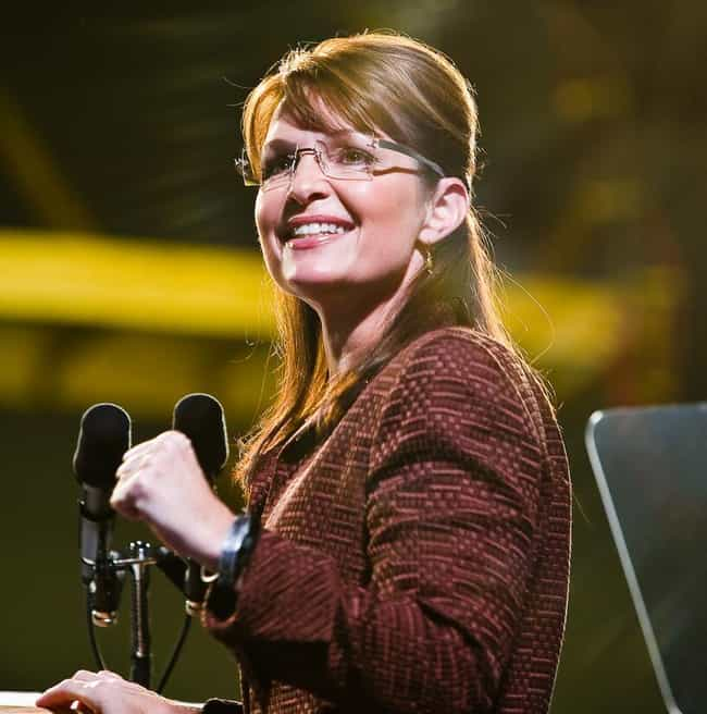 Sarah Palin is listed (or ranked) 1 on the list Famous Female Politicians