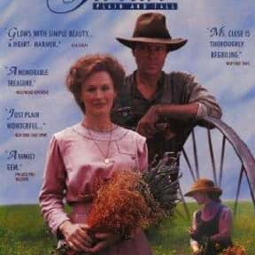 Sarah, Plain and Tall is listed (or ranked) 2 on the list Hallmark Hall Of Fame Movies From The 1990s