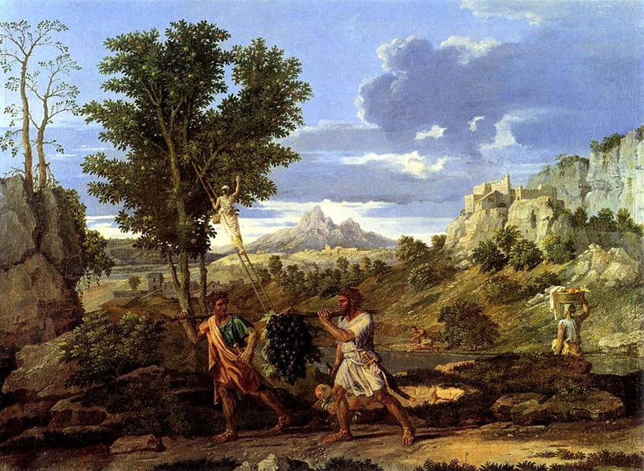 Autumn (The Spies with the Gra is listed (or ranked) 4 on the list Famous Classicism Paintings