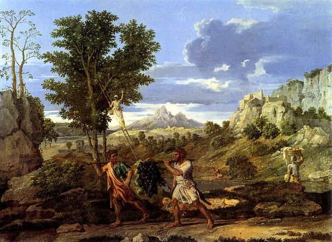Autumn (The Spies with t... is listed (or ranked) 2 on the list Famous Nicolas Poussin Paintings
