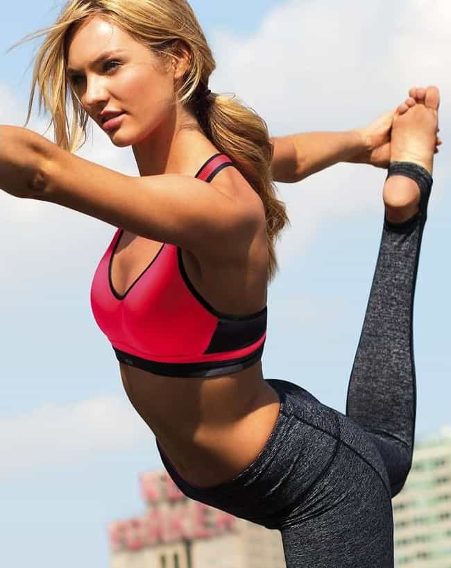 Candice Swanepoel is listed (or ranked) 3 on the list When I Combine Hot Girls Doing Yoga-You Get One Awesome List
