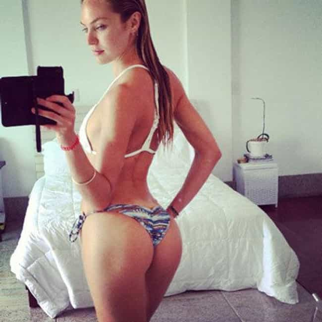 Candice Swanepoel is listed (or ranked) 3 on the list The 23 Hottest Female Celebrity Selfies