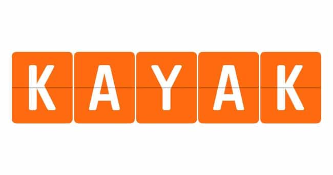 Kayak is listed (or ranked) 2 on the list The Best Airfare Booking Websites