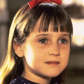 Matilda is listed (or ranked) 14 on the list The Greatest Female Characters in Film History