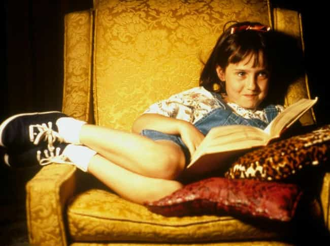 Matilda is listed (or ranked) 3 on the list The Most Beloved Fictional Bookworms