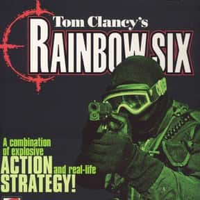 Rainbow Six is listed (or ranked) 3 on the list The Best Tom Clancy Books of All Time