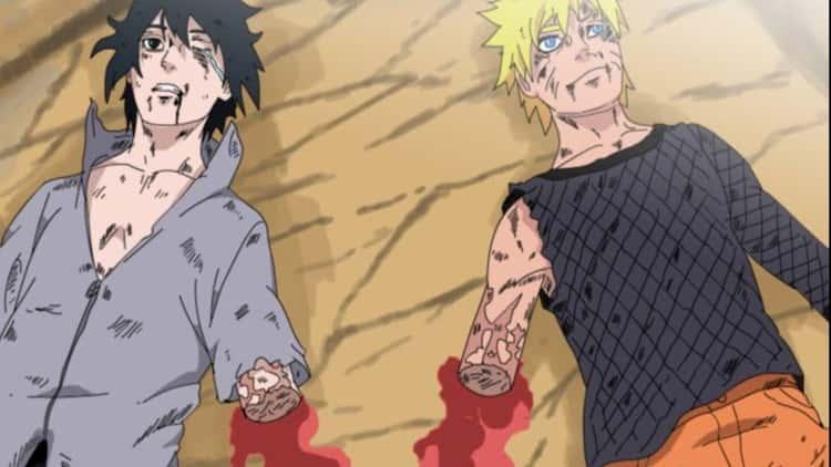 Sasuke Uchiha Is Missing An Arm In 'Naruto'