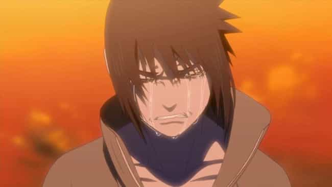 Sasuke Uchiha is listed (or ranked) 1 on the list 15 Anime Characters Who Are Their Own Worst Enemy