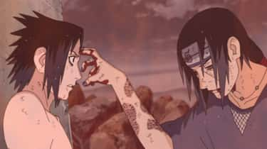 Sasuke Uchiha Vs. Itachi Uchiha - 'Naruto'