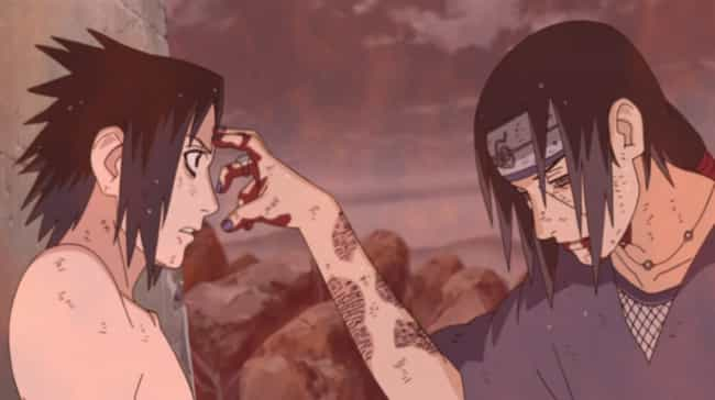 Sasuke Uchiha is listed (or ranked) 1 on the list The 16 Greatest Sibling Fights in Anime