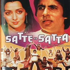 Satte Pe Satta is listed (or ranked) 20 on the list The Best Amitabh Bachchan Movies
