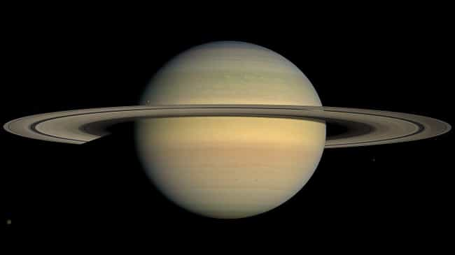 Saturn is listed (or ranked) 2 on the list The Best Planets in the Solar System