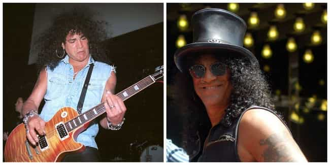 Slash is listed (or ranked) 6 on the list 50+ Celebrities Who Turned 50 in 2015