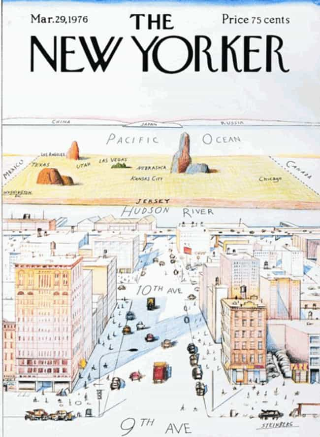 Saul Steinberg is listed (or ranked) 4 on the list The Best New Yorker Covers