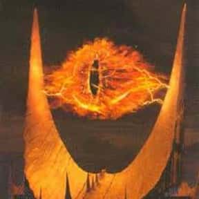 Sauron is listed (or ranked) 10 on the list The Greatest Movie Villains Of All Time