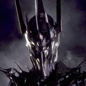 Sauron is listed (or ranked) 20 on the list The Best Lord of the Rings Characters