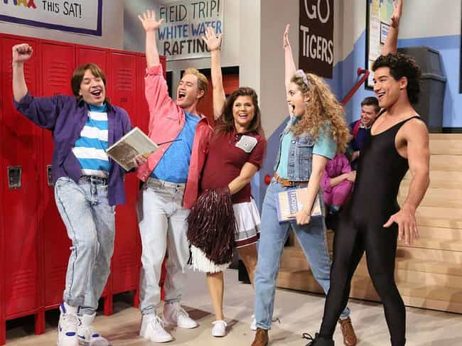 Saved by the Bell is listed (or ranked) 6 on the list TV Casts That Still Hang Out Even Though Their Shows Ended