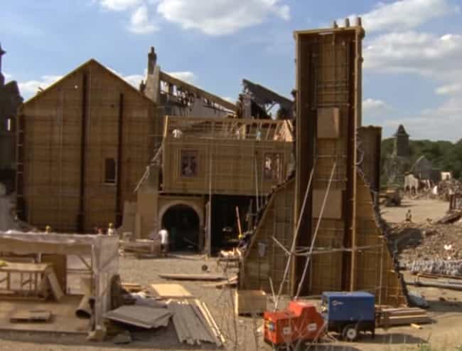 Saving Private Ryan is listed (or ranked) 2 on the list Behind The Scenes Photos Of Huge Movie Sets Under Construction
