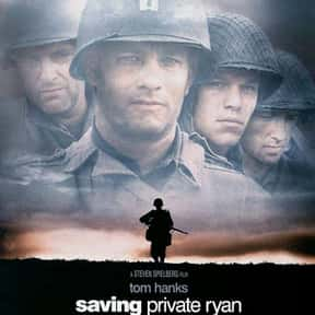 Saving Private Ryan is listed (or ranked) 19 on the list The Greatest Action Movies of All Time