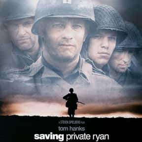 Saving Private Ryan is listed (or ranked) 2 on the list The Top Tearjerker Movies That Make Men Cry