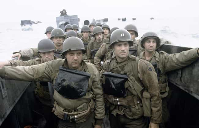 Saving Private Ryan is listed (or ranked) 1 on the list The Most Accurate Movies About WWII