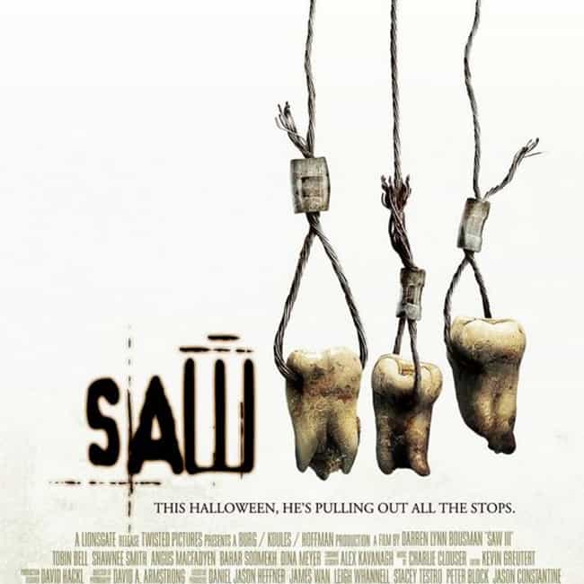 Saw III is listed (or ranked) 3 on the list All Saw Movies, Ranked Best to Worst