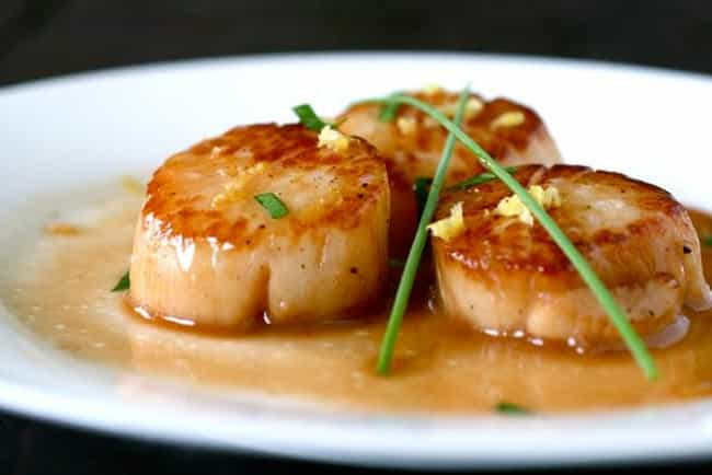 Scallop is listed (or ranked) 4 on the list The Best (Non-Fish) Seafood, Ranked