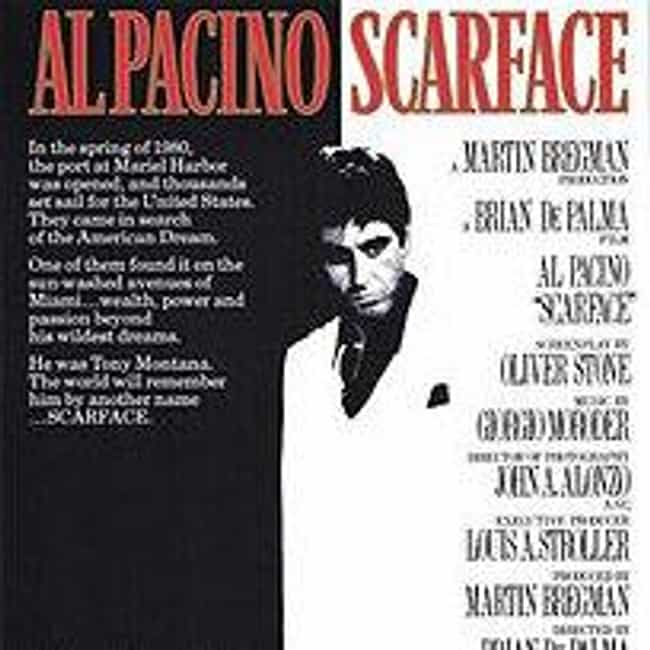 Scarface is listed (or ranked) 3 on the list What to Watch If You Love Goodfellas
