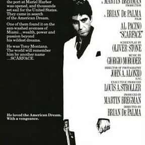 Scarface is listed (or ranked) 5 on the list The Best Movies with Rich People Spending Big