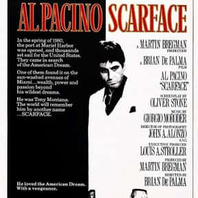 Scarface is listed (or ranked) 3 on the list The Best Al Pacino Movies