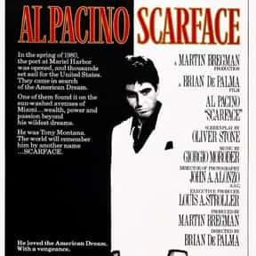 Scarface is listed (or ranked) 1 on the list What's the Best Florida Movie of All Time?