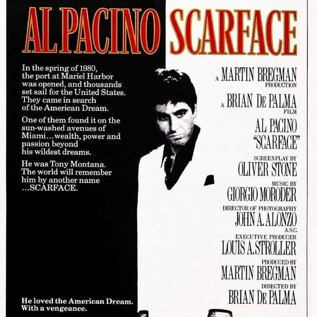 Scarface is listed (or ranked) 4 on the list What to Watch If You Love Goodfellas