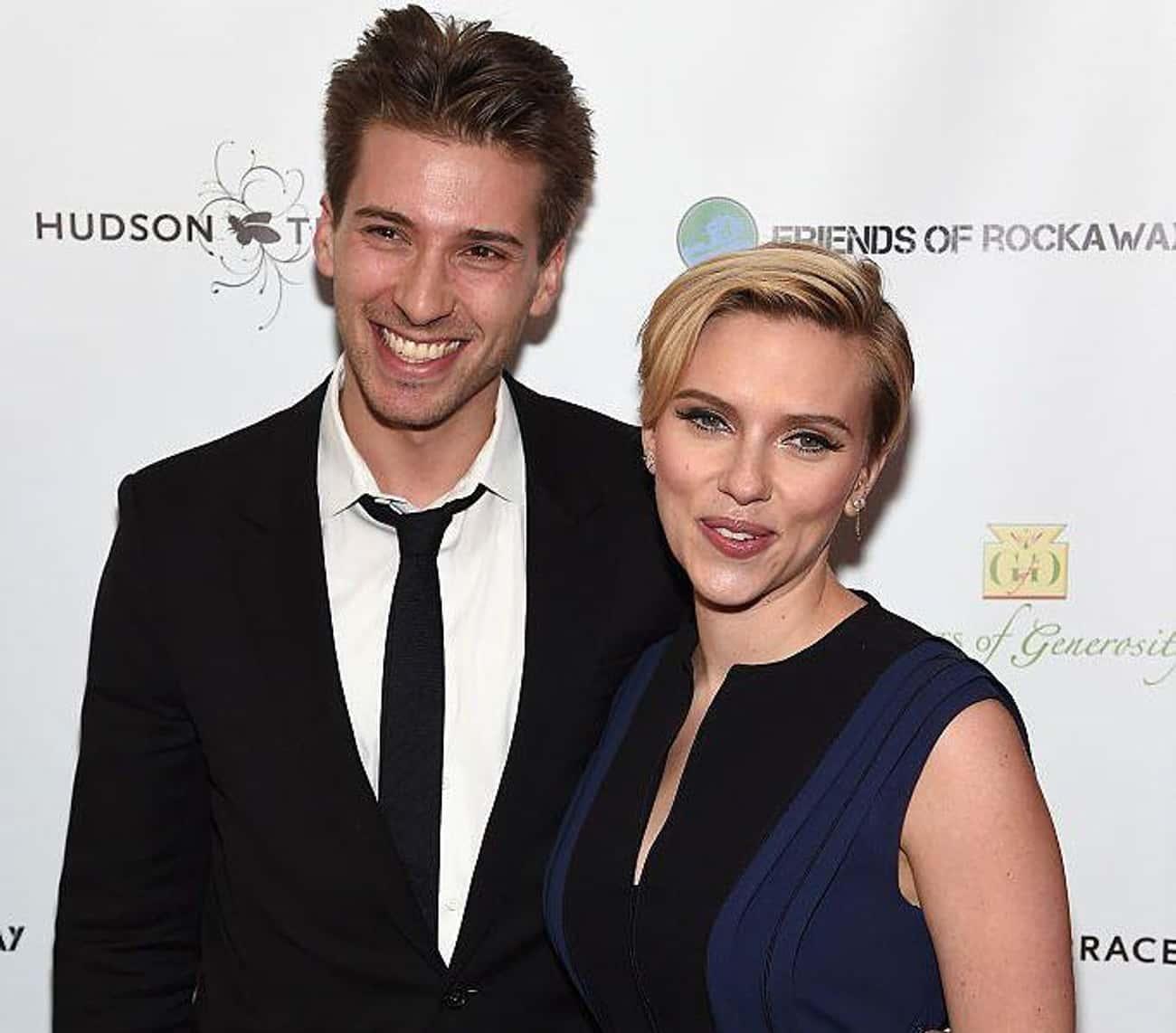 Scarlett Johansson and Hunter Johansson
