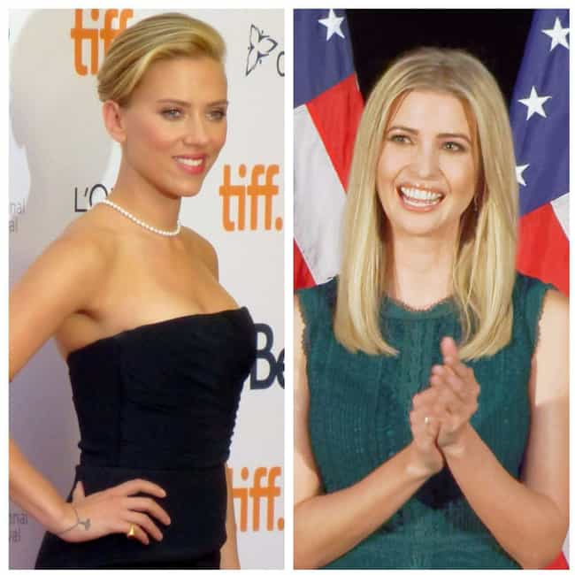 Scarlett Johansson is listed (or ranked) 3 on the list Actors That Should Be Cast In The Inevitable Trump Investigation Miniseries