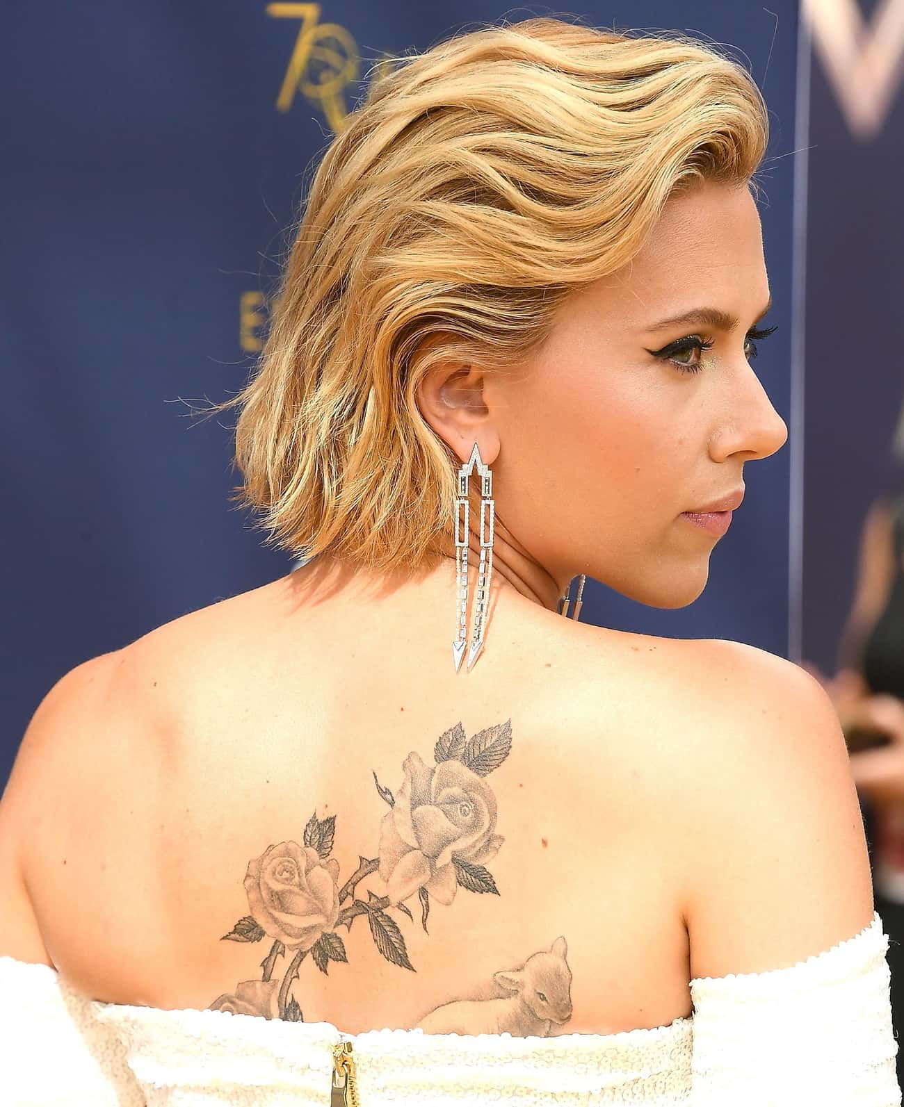 Scarlett Johansson is listed (or ranked) 1 on the list 30 Celebrities You Didn't Know Had Tattoos