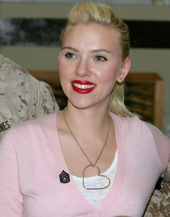 Scarlett Johansson is listed (or ranked) 4 on the list Stunning, Famous Ladies with Bleach-Blonde Hair