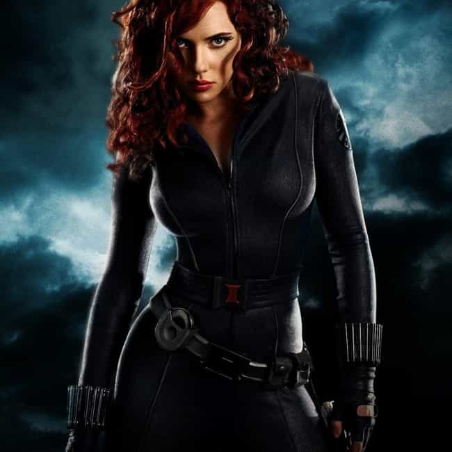 Scarlett Johansson is listed (or ranked) 7 on the list The Best Marvel Superhero Movie Actors