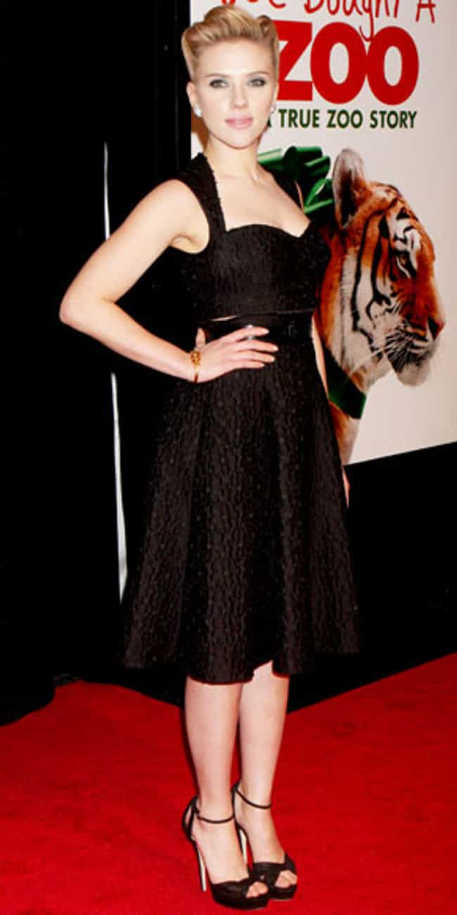 Scarlett Johansson is listed (or ranked) 1 on the list Celebrities in Dolce & Gabbana Dresses